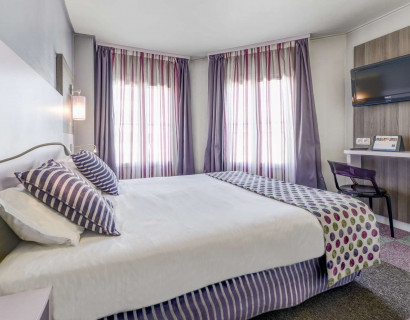 Comfort Hotel Nation - chambre 1